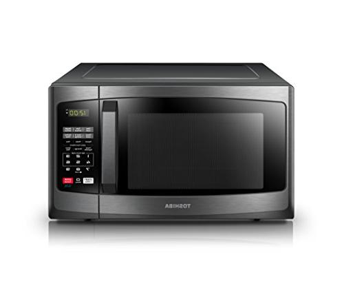 Toshiba with Sound Mode LED Lighting, 0.9 Cu.ft, Stainless
