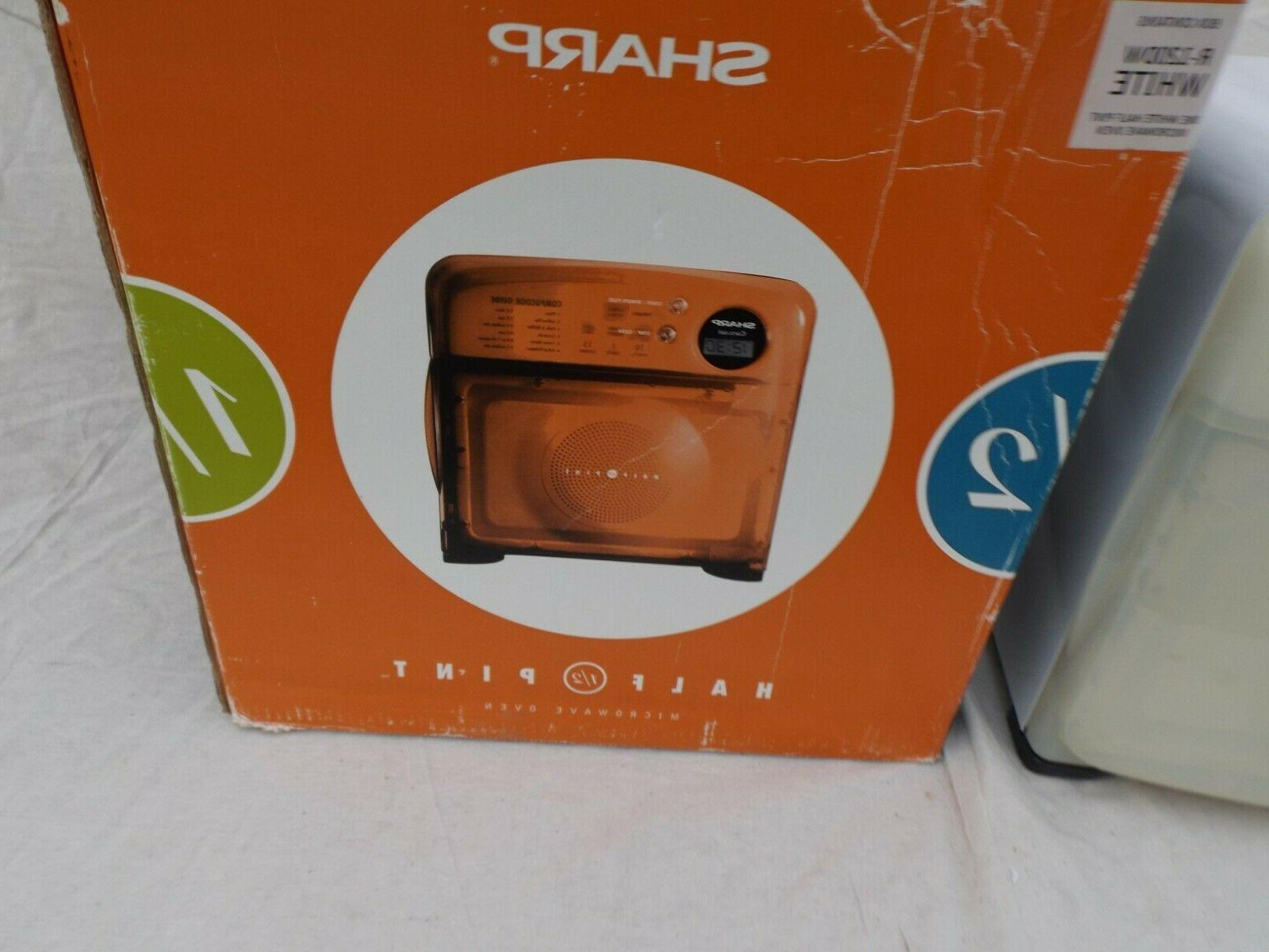 Sharp Half-Pint Microwave Oven R-120DW New Box Vintage