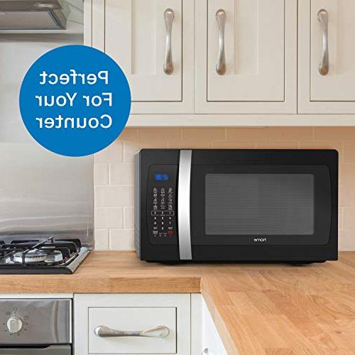 hOmeLabs Countertop Oven - 1.3 Cu. 1050W, Cook Functions, Dishwasher Turntable 10 Power Settings