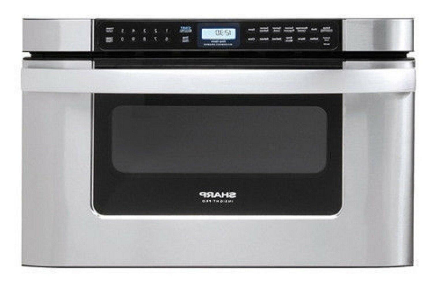 insight 24 microwave drawer stainless kb6524ps