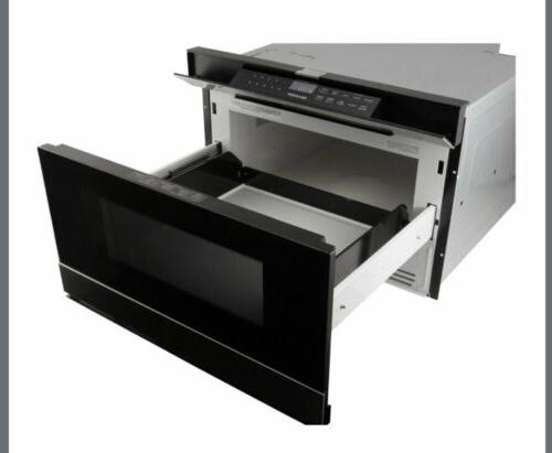 """Sharp Stainless 24"""" Microwave Drawer SMD2480CS"""
