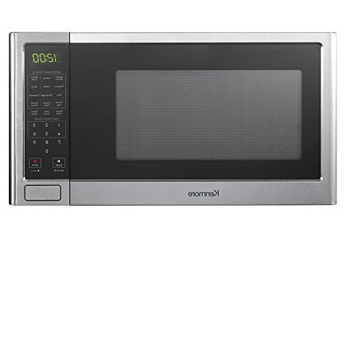 kenmore microwave oven stainless steel 76983