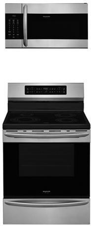 """Frigidaire 2-Piece Kitchen Package with FGIF3036TF 30"""" Frees"""