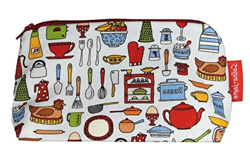 kitchen utensils designer toiletry bag
