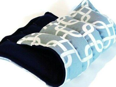 Large Microwave Heating Pad for Back Body, Rice Flax Heat Pa