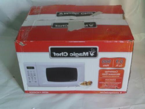 Magic Chef MCM990W 0.9 CF. 900W WHITE Microwave