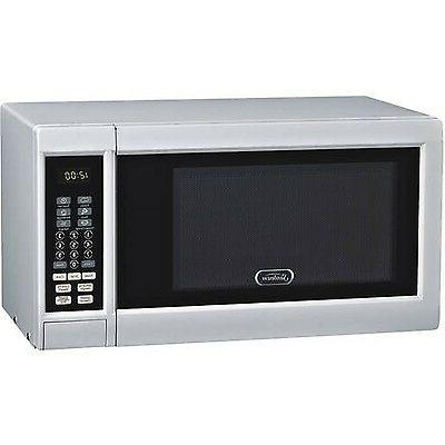microwave 10 power levels white