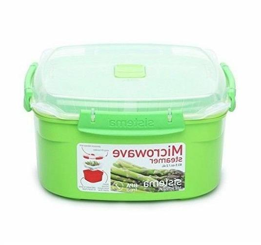 Microwave Cookware Sistema Assorted Colors Sizes