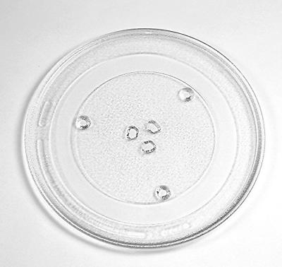 microwave glass plate tray 13 1 2