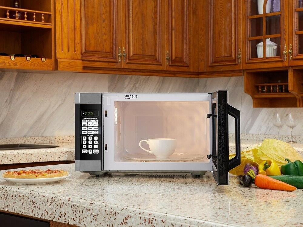 Microwave Oven 1.6 Ft Touch Screen Digital