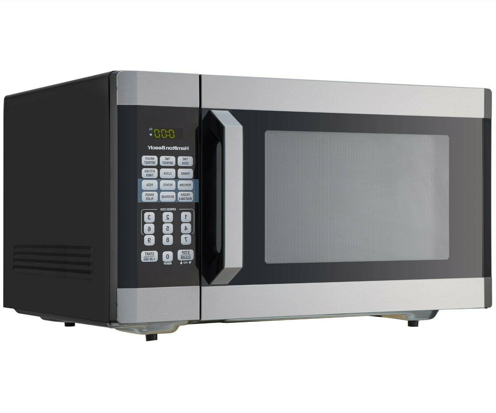 Microwave 1.6 Ft Touch Screen Stainless