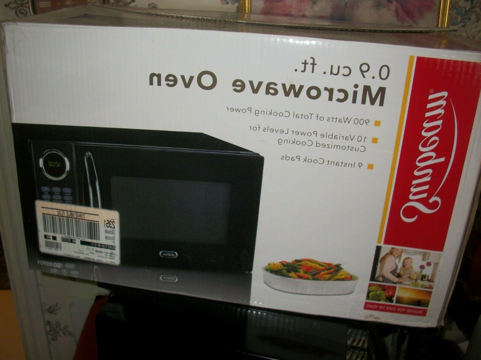 Sunbeam Microwave Oven Watts 0.9 Cubic Feet