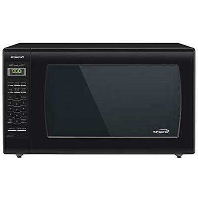 microwave oven black countertop with inverter technology