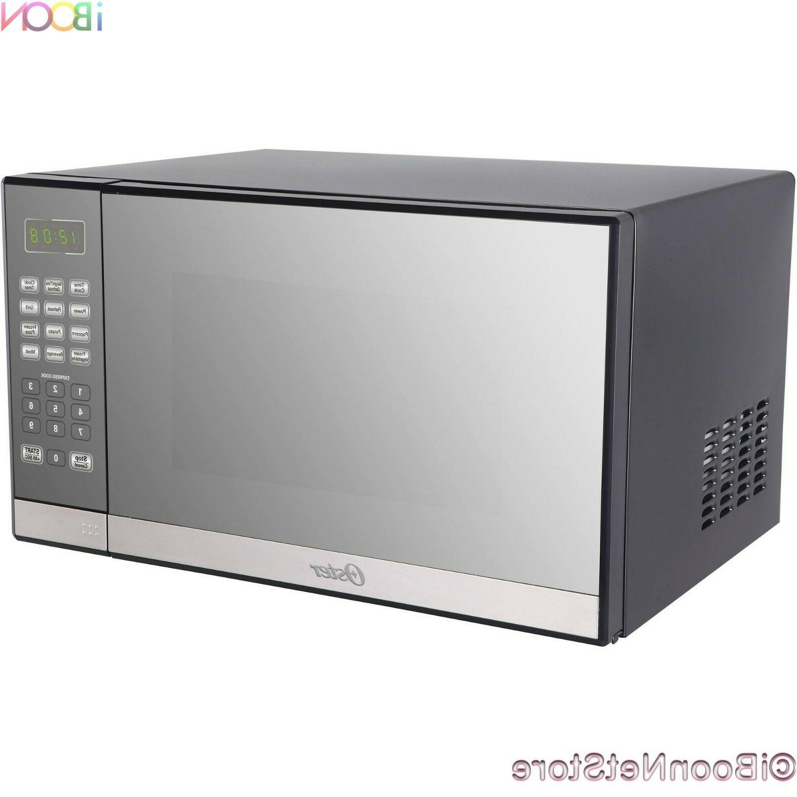 Oster Microwave CounterTop Stainless Steel 1.3 ft with