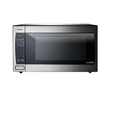 microwave oven countertop stainless steel