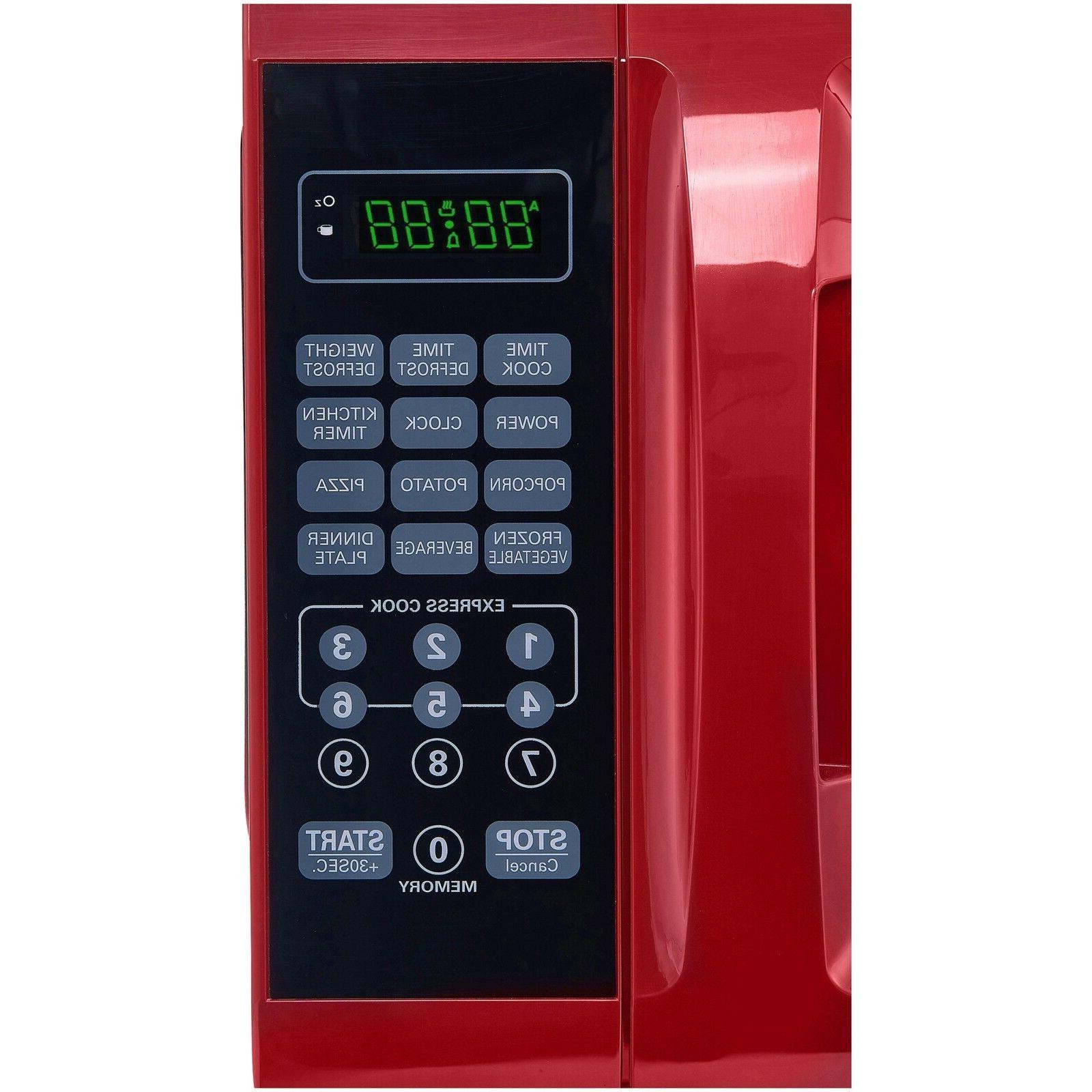 Microwave Removable Turntable, Red