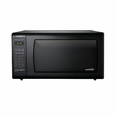 microwave oven with inverter technology black