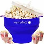 microwave popcorn popper big popcorn maker silicon