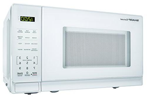 Sharp Microwaves ZSMC0710BW 700W Countertop Microwave Oven, 0.7 Cubic Foot,