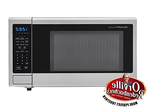 1,000W Countertop Microwave 1.1 Cubic Stainless