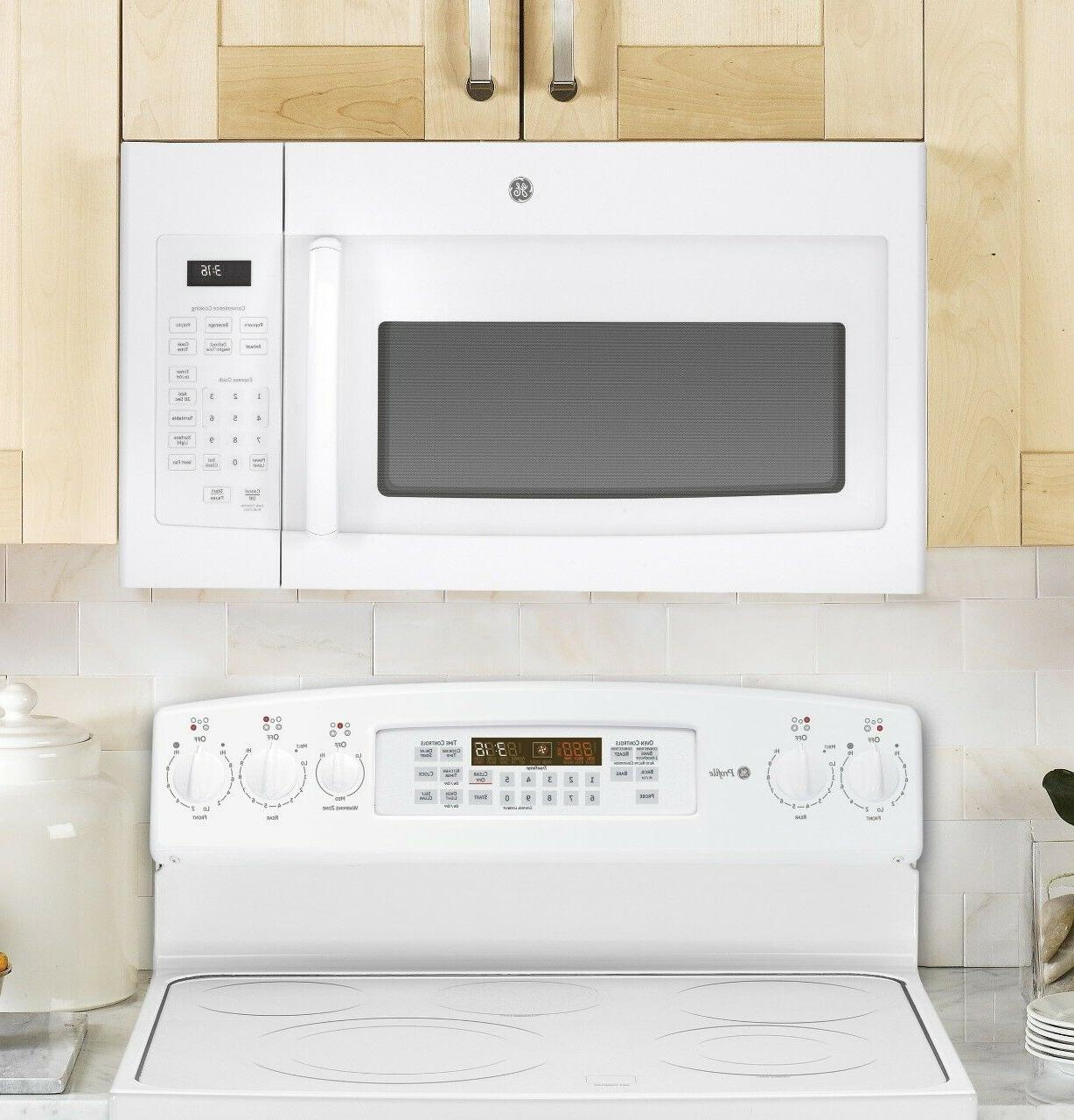GE 1.6 Ft. Over-the-Range Microwave
