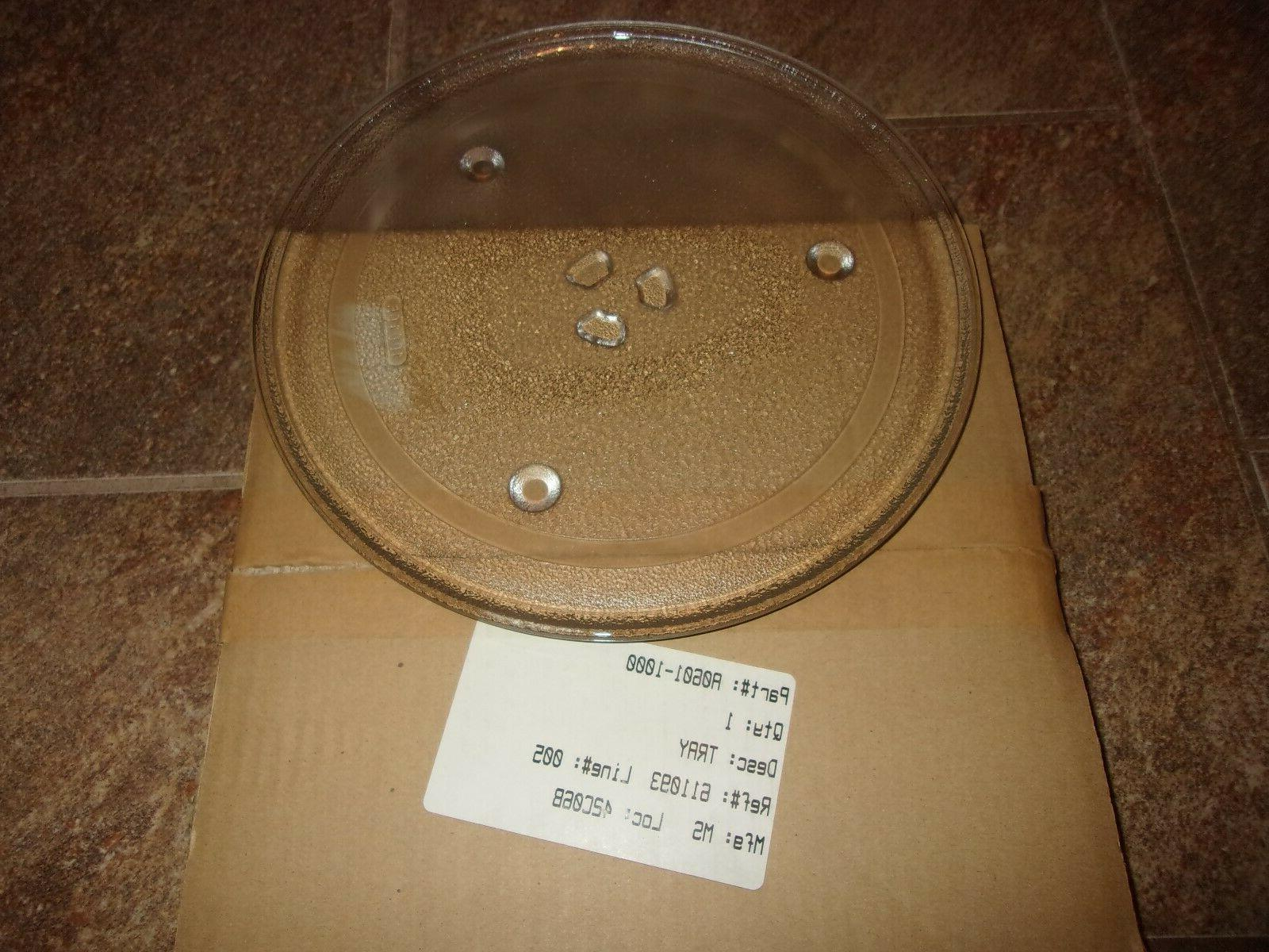 new 10 1 4 glass turntable tray