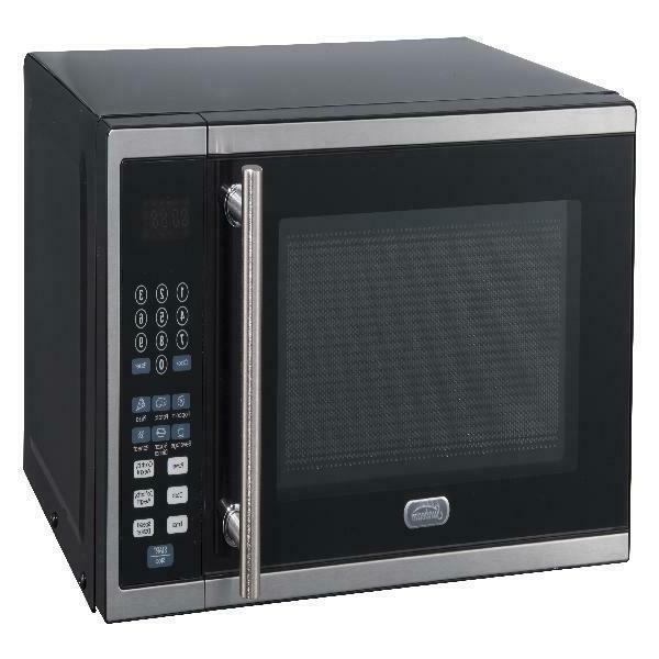 Digital Kitchen Microwave Cooking Food Stainless Steel 0.7 Ft