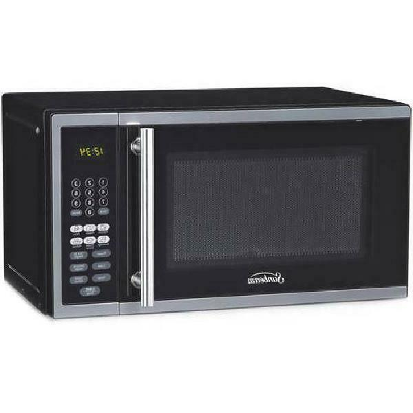 digital kitchen microwave oven cooking food home