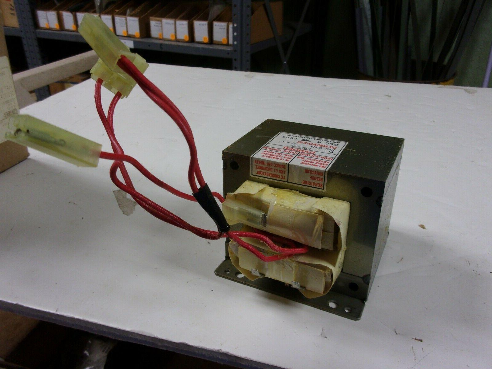 new microwave transformer part 56001108