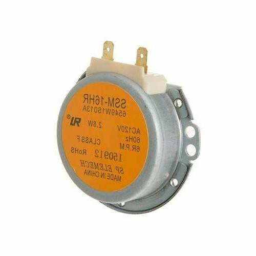 new replacement turntable motor for wb26x10082 ap2632784