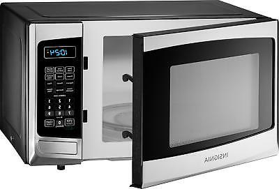 Open-Box Excellent: Insignia- Cu. Microwave - Stainless