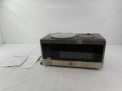 profile countertop microwave oven stainless