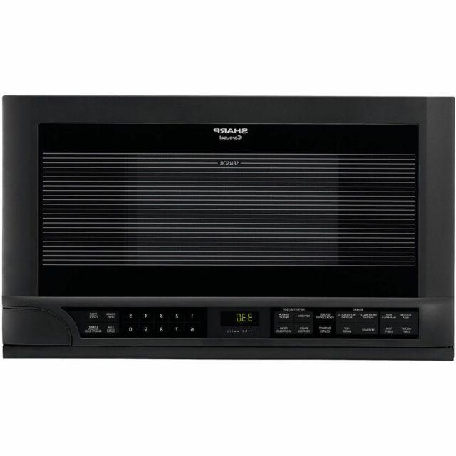 r1210t over the counter microwave black 1