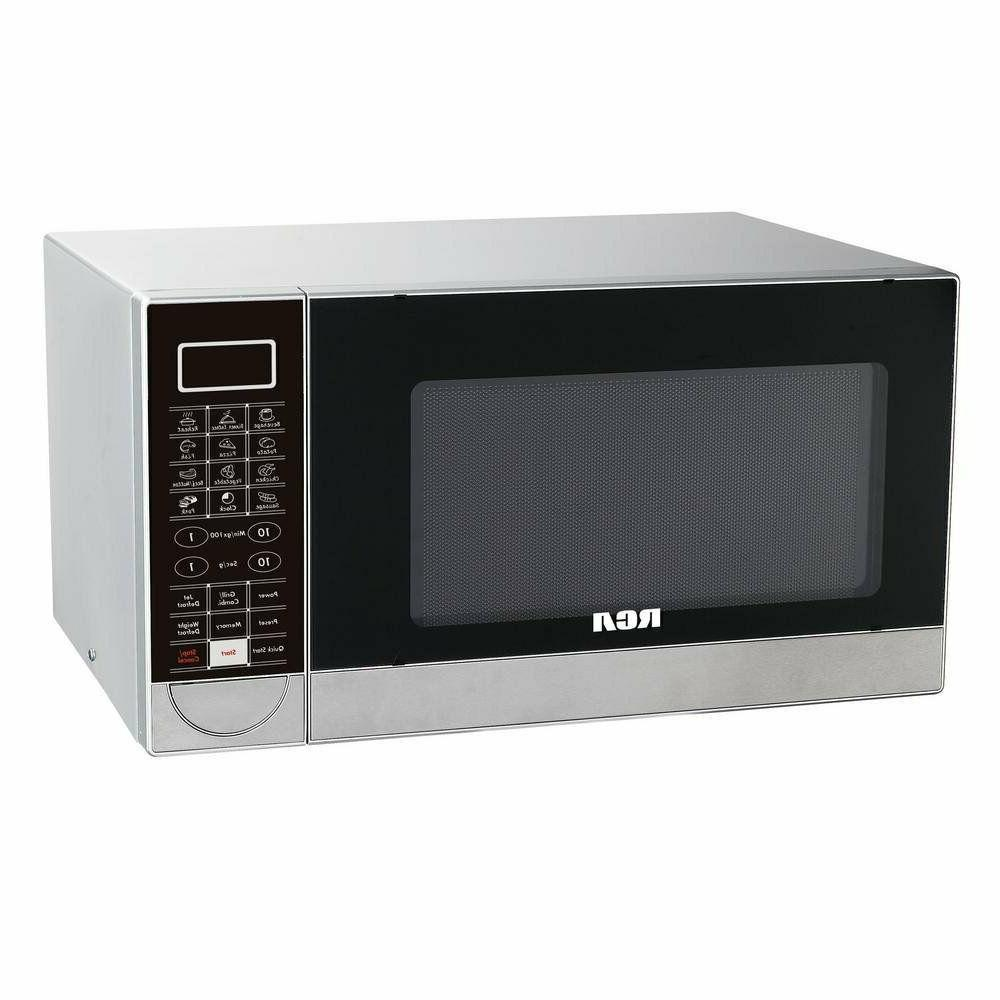 RCA 1.1 CU FT STAINLESS STEEL DESIGN MICROWAVE WITH GRILL FE