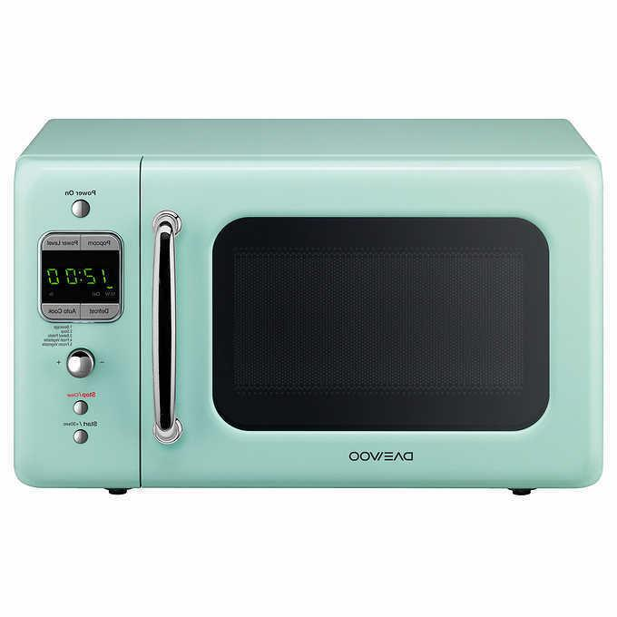 Daewoo 0.7 CuFt 700W Microwave KOR-7LRE LIGHT GREEN