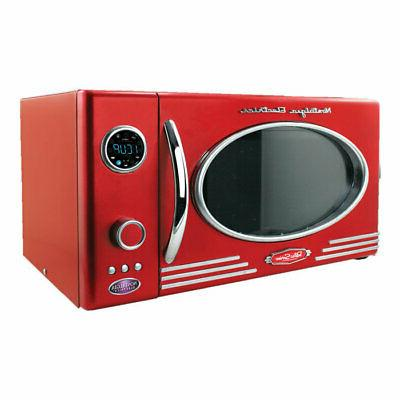 700W Microwave Oven Nostalgia RMO770RED Retro Series 0.7 cu Red ft Color
