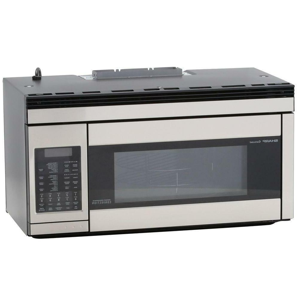 stainless steel over the range convection microwave