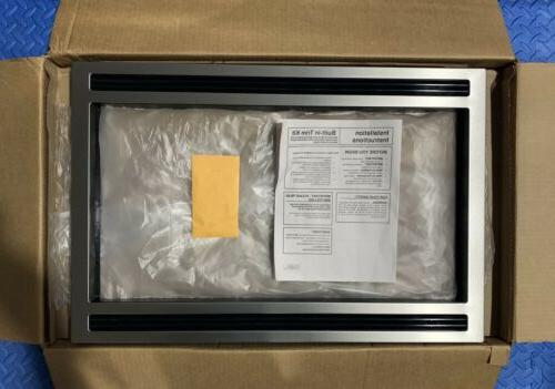 stainless trim kit mwtk27kf for microwaves see