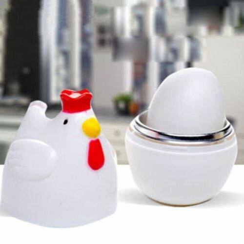 Tool Microwave Steamer Home Eggs Egg Boiler Chicken Shaped C