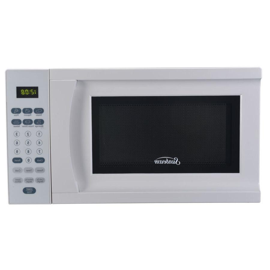 White 0.7-cu ft 700-Watt LED Display Electronic Controls Cou