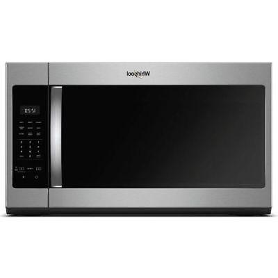 Whirlpool WMH31017HS 1.7CF Over the Range  Microwave Stainle
