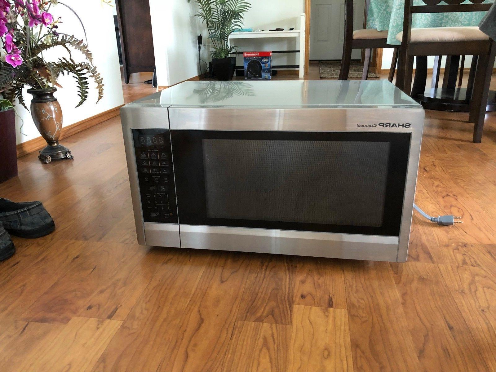 Sharp ZR651ZS 2.2 Cu Ft Microwave Stainless Steel