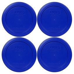 4 Pack! Pyrex Light Blue 2 Cup Round Storage Cover Item Numb