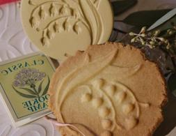Brown Bag Lily of the Valley Cookie Stamp - Art Nouveau Flow