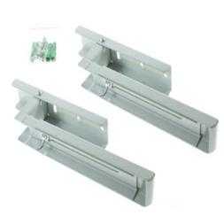 Lm Electrical Silver Wall Mounting Bracket Arms For Microwav