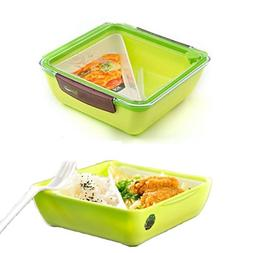Lunch Bento Box Container Leakproof Dishwasher Microwave Saf