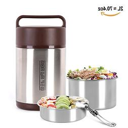 Lunch Box Stainless Steel Food Jar Vacuum Insulated Food Con