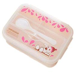 Panda Superstore Lunch Box Two-layer Plastic Microwave Prese