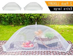 Luxury Large Food Cover Tent | 100% Organza Net Highly Dura