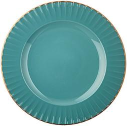 Marchesa Shades of Teal Accent Plate by Lenox
